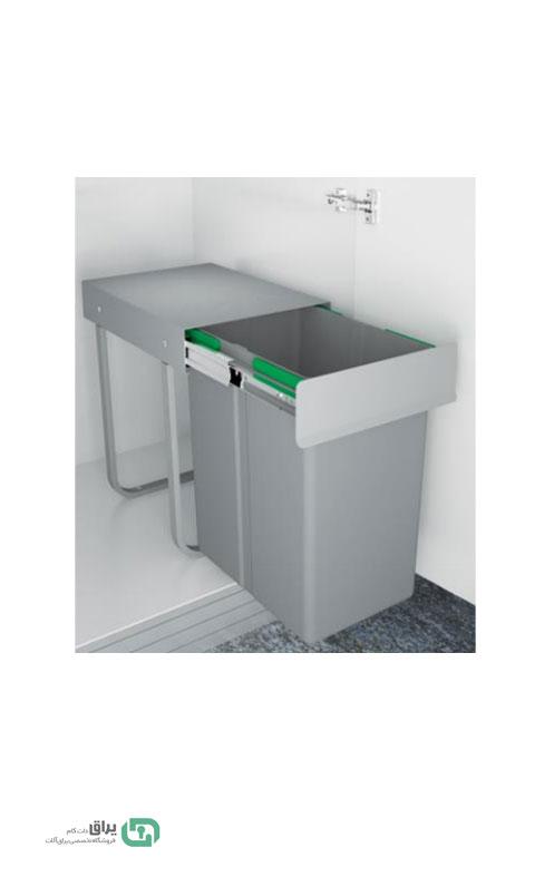 سطل-زباله-تک-مخزن-3611-پلاتین-platin