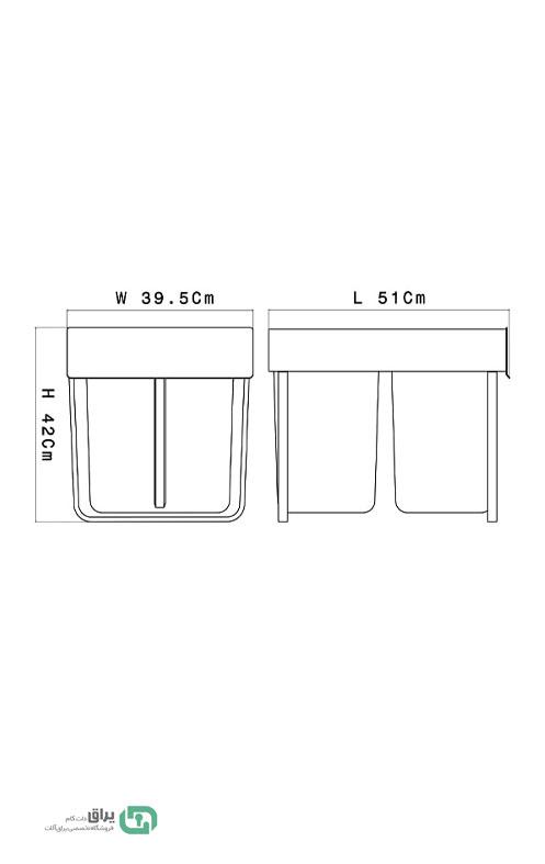 شماتیک-سطل-زباله-دو-مخزنه-ریلی-A813-آدلان-Adlan
