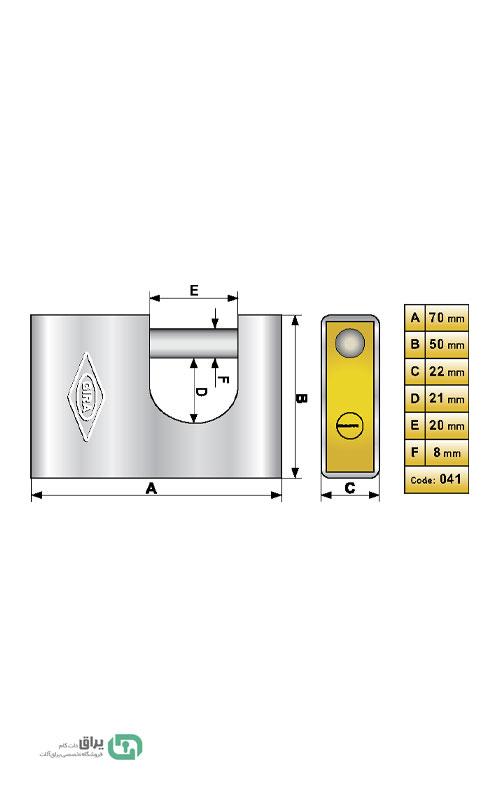 شماتیک-قفل-041-گیرا