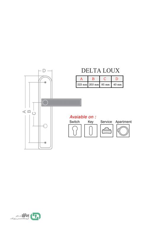 -دستگیره-در-دلتا2121-Delta1