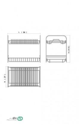 آبچکان رومیزی A121 آدلان-Adlan