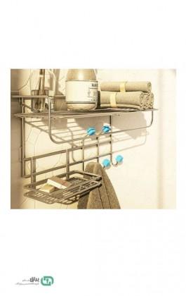 آویز حمام لاکچری 7312 پلاتین - platin