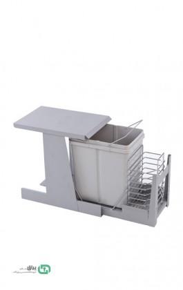 سطل زباله ترکیبی ریل تاندم A841 آدلان-Adlan