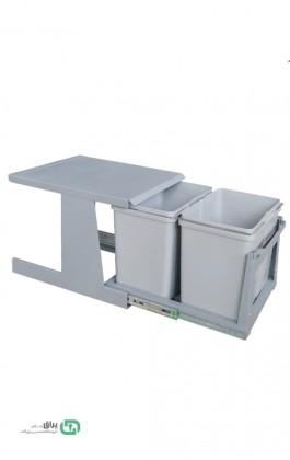 سطل زباله دو مخزنه ریلی A816 آدلان-Adlan