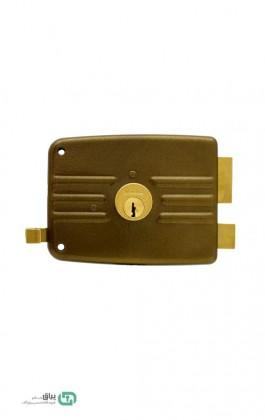 قفل حیاطی طرح ایزو کلید معمولی منیرصنعت - Monir sanat